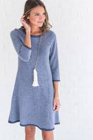 blue dress sweater is better blue dress ella boutique online store