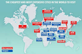 cheapest cities to live in the world the world s cheapest and most expensive cities to visit this year