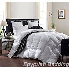White Down Comforters Amazon Com Luxurious 1200 Thread Count Goose Down Comforter