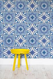 Kitchen Wallpaper by Best 25 Tile Wallpaper Ideas On Pinterest Moroccan Tiles