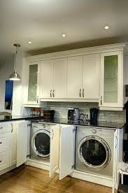 Washing Machine In Kitchen Design Laundry In The Kitchen Design Kitchen Pantry Decor Laundry Room