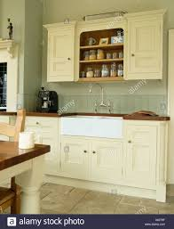 how to paint cabinets with farrow and painted kitchen cupboards high resolution stock photography