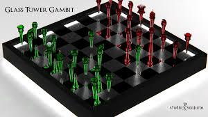 Futuristic Chess Set Blender 3d Prismata Blog
