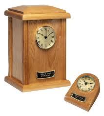 wood clock tower urn naturale finish 65 150 01 wtu 42 65 00