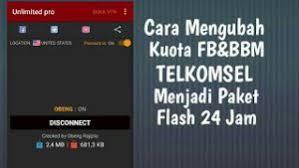 kuota bbm dan fb telkomsel cara mengubah kuota fb dan bbm unlimited menjadi biasa atau flash
