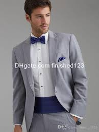 light gray suits for sale 2018 sale one button light grey groom tuxedos notch lapel