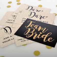 Bride Cards Team Bride Dare Cards Pack Of 20 Team Bride Theme Cards