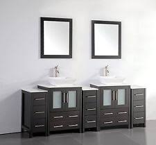 84 Bathroom Vanity Double Sink Double Sink Bathroom Vanity Ebay
