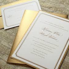 invitation paper gold wedding invitation paper gold 2089046 weddbook