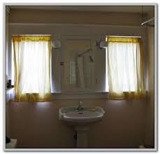 Basement Window Curtains - small basement window curtains curtains home design ideas