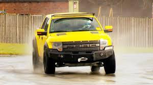 Yellow Ford Ranger Truck - stig vs the hennessey velociraptor u2013 series 22 episode 6 behind