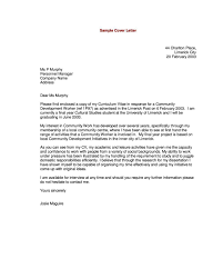 resume cover letter example 19 sample general examples