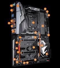 Z370 Specs Z370 Aorus Gaming 7 Rev 1 0 Motherboard Gigabyte