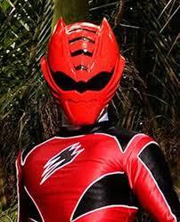 power rangers jungle fury cosplay prop red ranger helmet