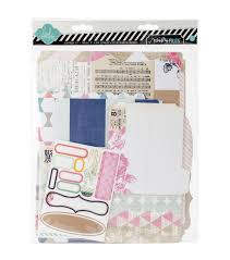 scrapbook album kits heidi swapp mixed media scrapbook album kit 9 x11 5 cardstock