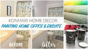 painting home konmari home decor before after home office u0026 ensuite painting