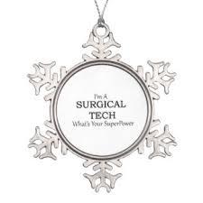 surgical tech ornaments keepsake ornaments zazzle