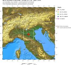 Italy Earthquake Map Report Of The Emilia Romagna Modena Earthquake The May 29th 2012