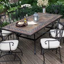 Tile Top Patio Table Impressive On Tile Patio Table Shop Patio Furniture Tile Top Patio
