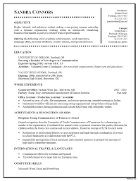 resume exles for college students seeking internships for high resume template for college students http www student sle