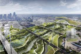 City Of Dallas Zoning Map by New Urban Park In Dallas Will Be One Of America U0027s Biggest Curbed