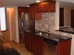 astonishing white travertine kitchen backsplash features brown
