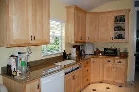 white appliances kitchen kitchen maple kitchen cabinets natural with backsplash