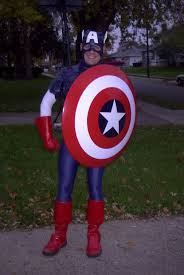 Boots Halloween Costume Captain America Halloween Costume 7 Steps Pictures