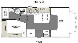 Coachmen Class C Motorhome Floor Plans Used 2013 Coachmen Rv Freelander 19cb Ford 350 Motor Home Class C