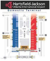 atlanta airport floor plan airport map new png