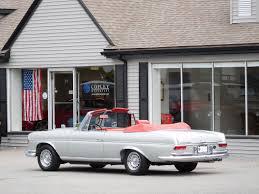 mercedes showroom 1966 mercedes benz 300se amg 6 3 cabriolet copley motorcars