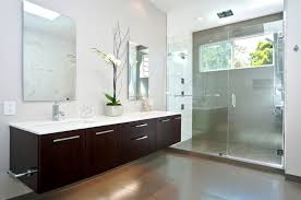 ikea floating bathroom vanity using kitchen cabinets modern realie