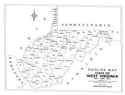County Map Of Virginia Wv County Quiz