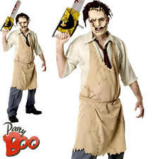 Texas Chainsaw Halloween Costumes Mens Halloween Costumes Ebay