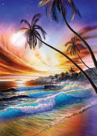 tropical beach wall mural tropical beach wallpaper wallsauce usa save your design for later