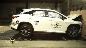 lexus tests ncap crash test of lexus rx 2015