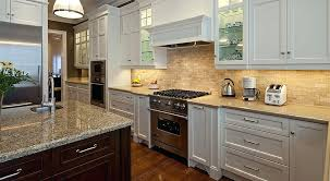white kitchen cabinets with granite backsplash ideas for kitchens with granite countertops and white