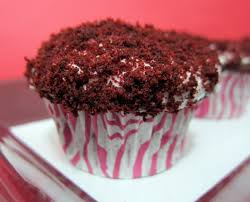 red velvet cupcakes plain chicken