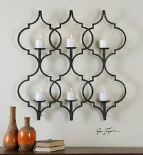 Yankee Candle Wall Sconce Metal Wall Mounted Candle Sconces Ebay