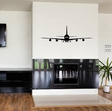 aviation decor home a380 wall stickers aviation living room waterproof vinyl decal