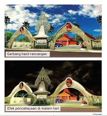desain warna gapura konsultasi desain rumah sentuhan solo di pulau dewata konsultasi