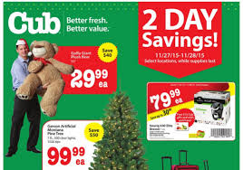 Cub Foods Hours Thanksgiving Cub Foods After Thanksgiving Sale 11 27 11 28 15