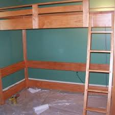 furniture diy small wooden bunk bed plans retro wood for shaped