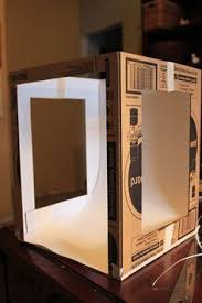 light boxes for photography display diy tutorial explaining how to make your own photo light box with