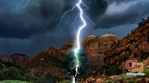 2 injured in zion national park after lightning strikes tree safety
