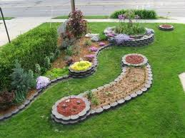 Landscaping Ideas For Small Gardens Small Front Yard Landscape Ideas Interesting Flower Beds Lawn