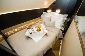 Private Plane Bedroom Flying Reimagined Etihad A380 Tour At The Dubai Airshow