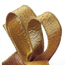 gold metallic ribbon metallic ribbon for sale