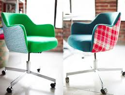 Reupholster Egg Chair Reupholstered Rolling Office Chairs Are Really Cherry Homejelly