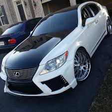 black lexus 2008 jimmy u0027s ls460 build blackpearl front kit clublexus lexus